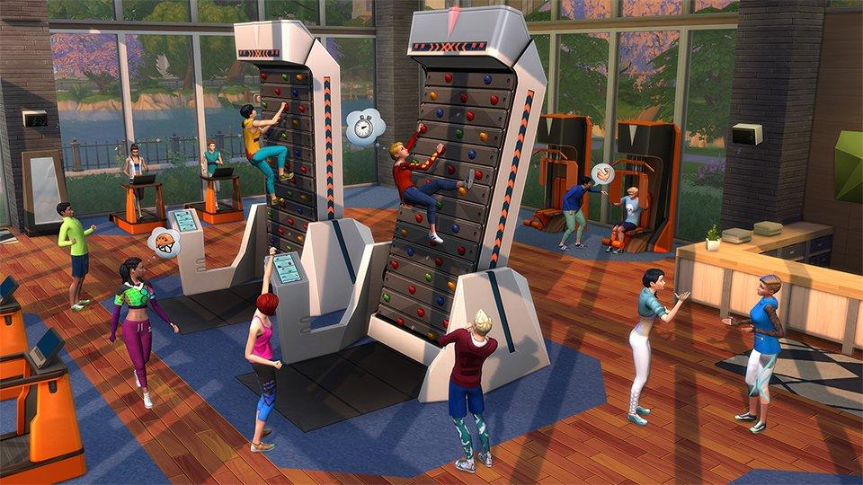 Les Sims 4 Fitness arrivent le 20 Juin
