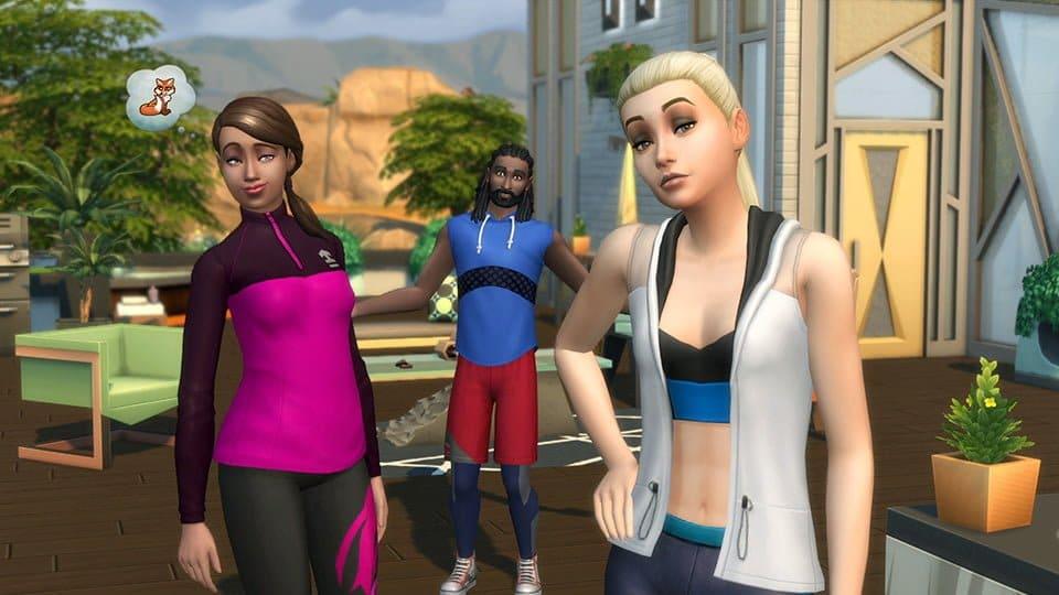 Le kit Les Sims 4 Fitness est disponible