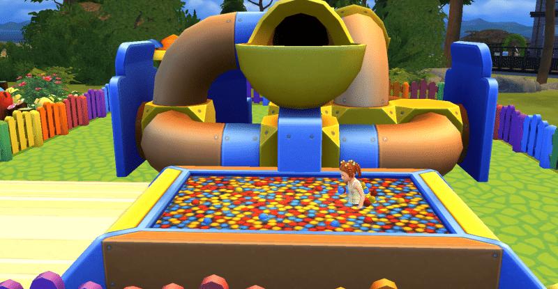 Piscine à balles Sims 4 Bambins