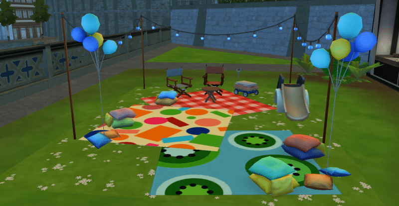 Objets Sims 4 Bambins