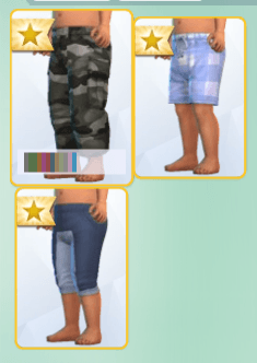 Pantalon Sims 4 Bambins