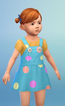 Tenue Sims 4 Bambins