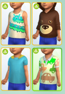 Test Les Sims 4 Bambins