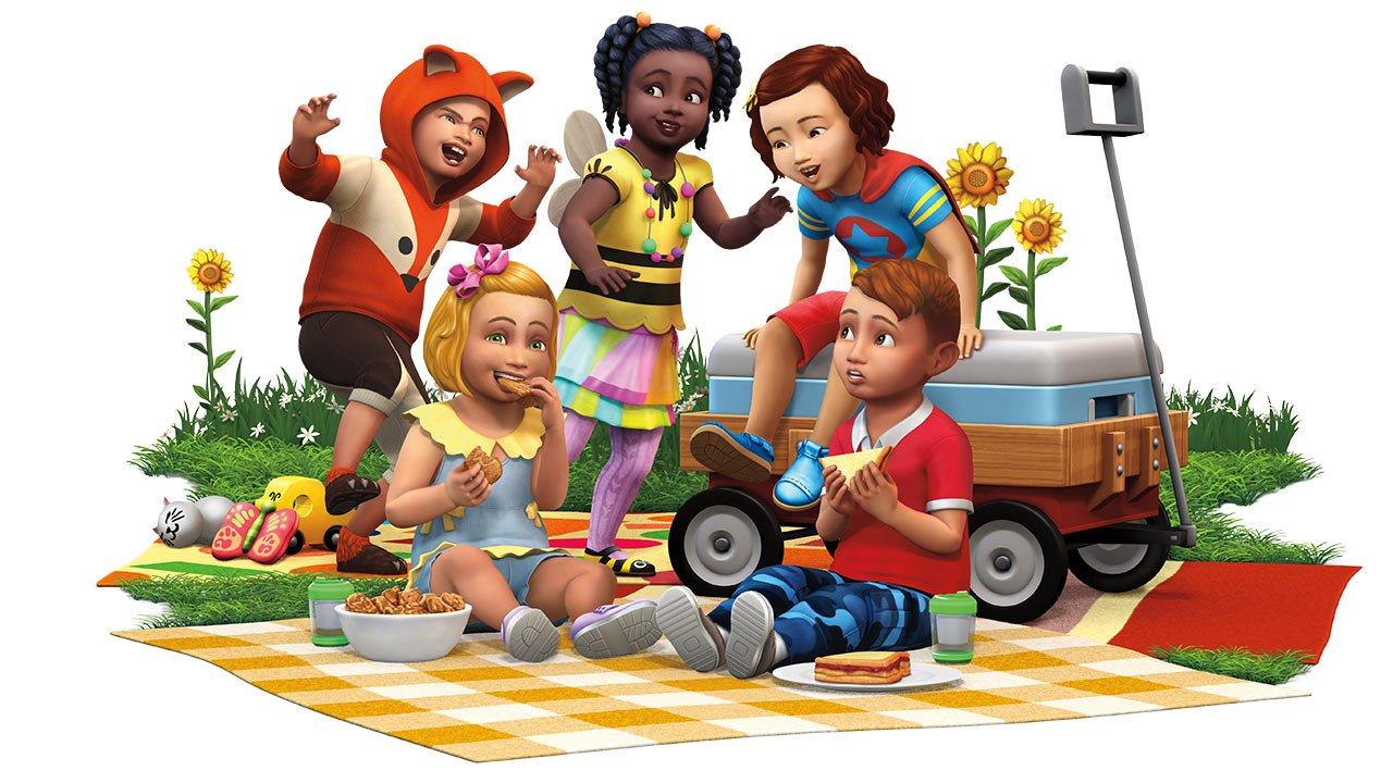 Le kit Les Sims 4 Bambins arrive le 24 août