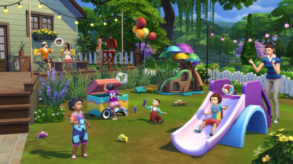 Le kit Les Sims 4 Bambins vient de sortir