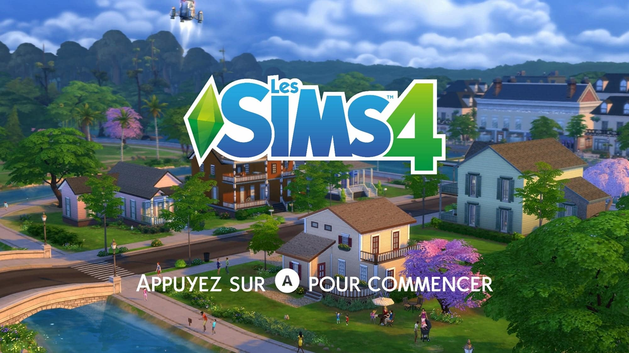 Démarrage sims 4 consoles xbox one ps4