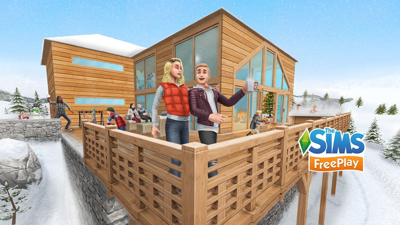 La mise à jour de Noël des Sims Freeplay
