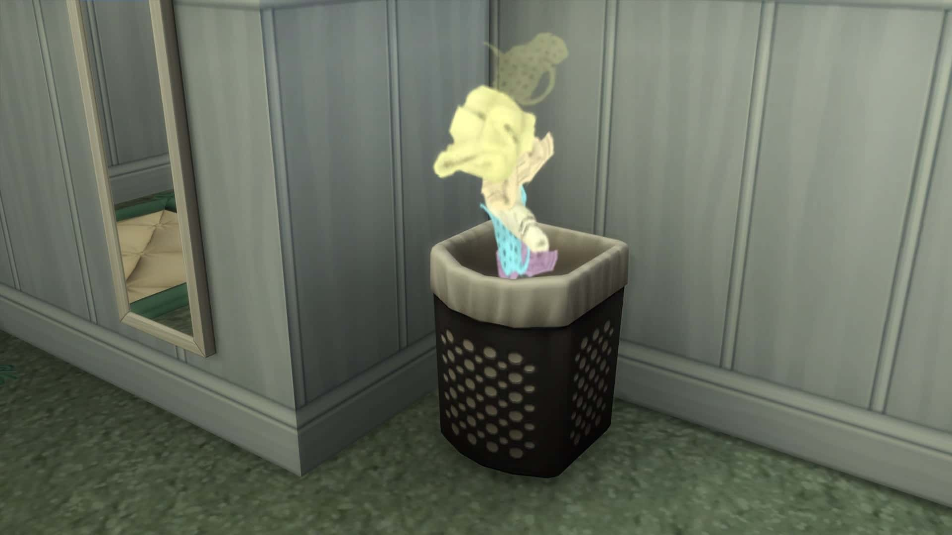 Linge Sims 4 Jour de lessive