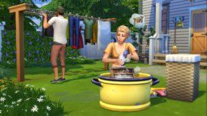 Test Les Sims 4 Jour de Lessive