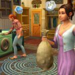 Le kit Les Sims 4 Jour de Lessive arrive sur consoles