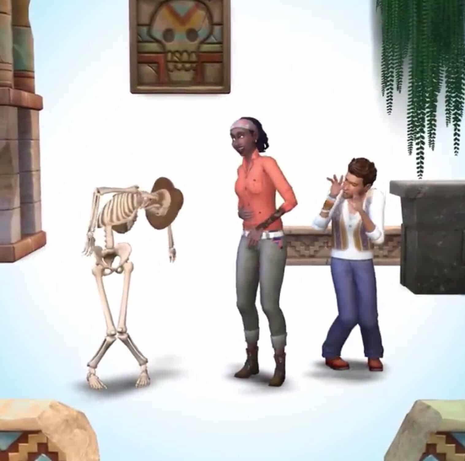 Cet hiver chez Les Sims 4