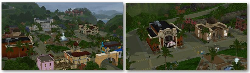 Isla Paradiso Sims 3 Ile de Rêve