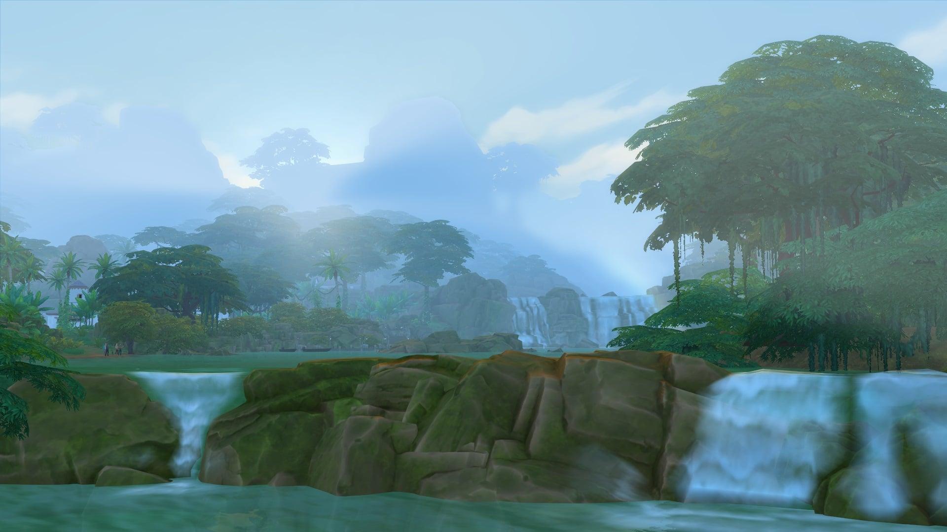 Selvadorada Sims 4 Dans la Jungle