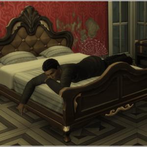 Parures de lit victoriennes