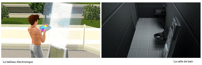 Objets Sims 3 En route vers le futur