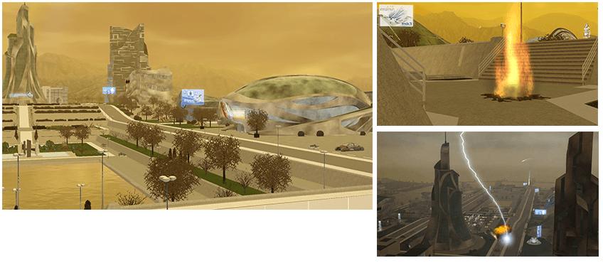 Futur dystopique sims 3 en route vers le futur