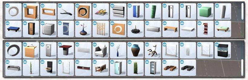 Objets Sims 4 Détente au spa