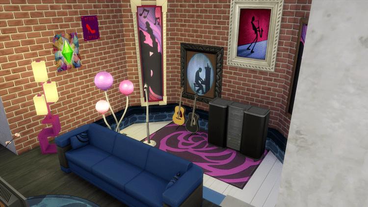 archi d co rock n 39 roll amaz 39 sims le blog. Black Bedroom Furniture Sets. Home Design Ideas