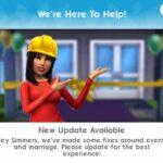Planète Sims – Erreur fatale