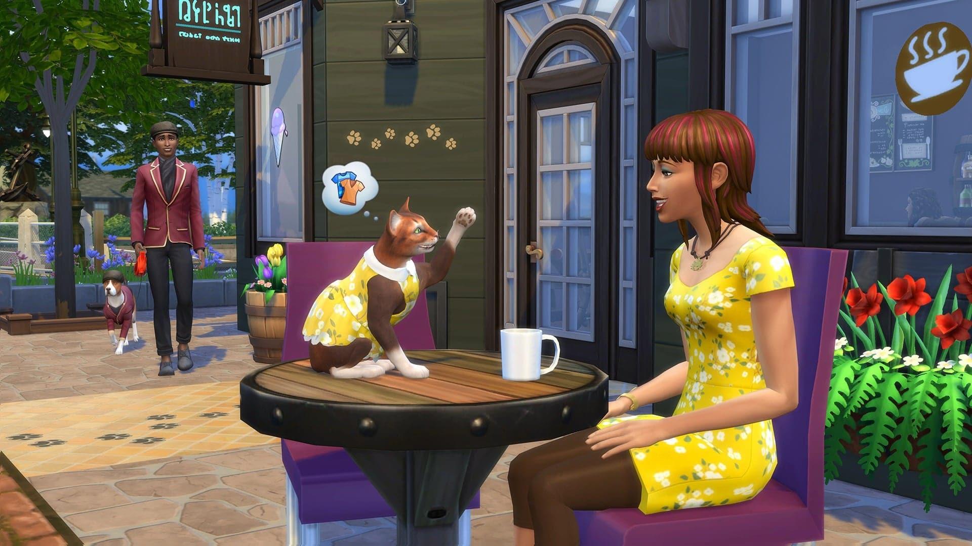 Live Les Sims 4 Premier Animal de Compagnie