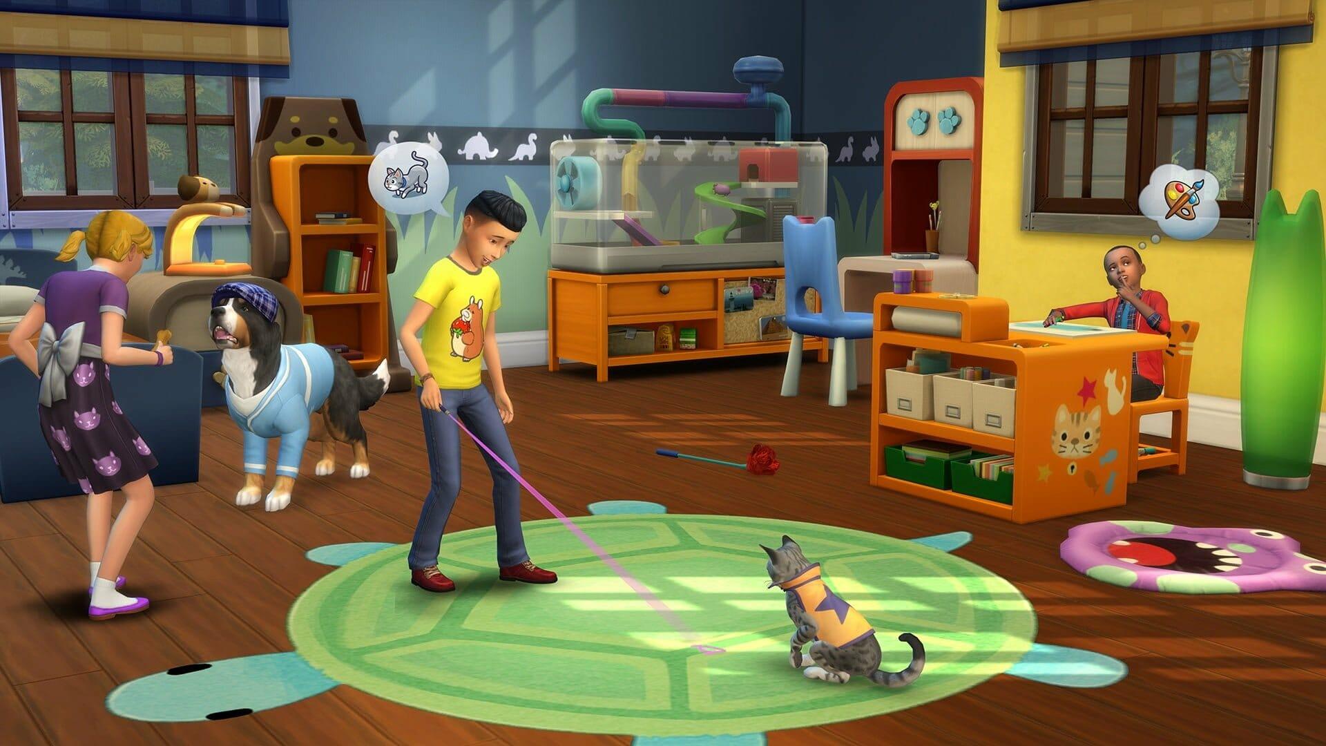 Le kit Les Sims 4 Premier Animal de Compagnie est disponible sur consoles