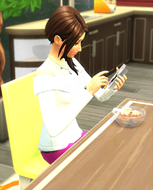 Glace sims 4 en cuisine