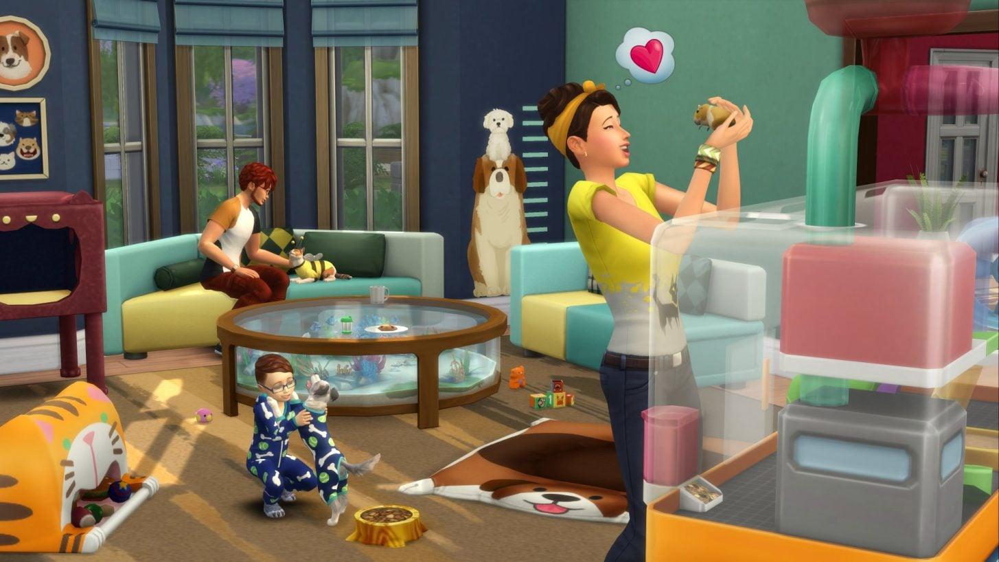 Le kit Les Sims 4 Premier Animal de compagnie arrive le 13 Mars