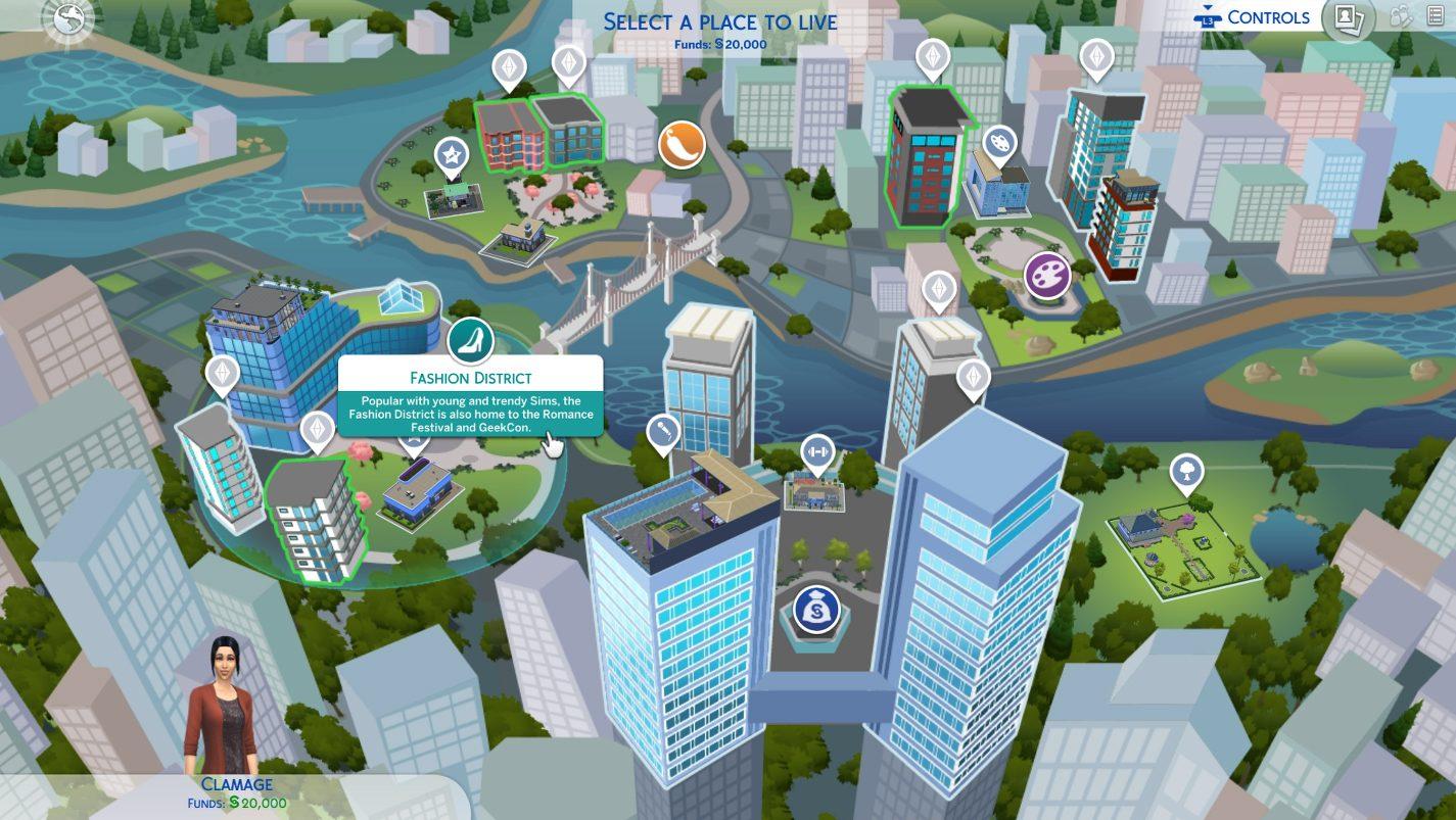 Découvrez les nouveautés de l'interface des Sims 4 sur consoles