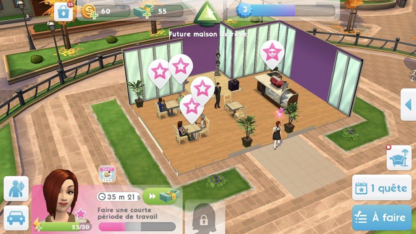 , Zoom sur… les baristas des Sims Mobile