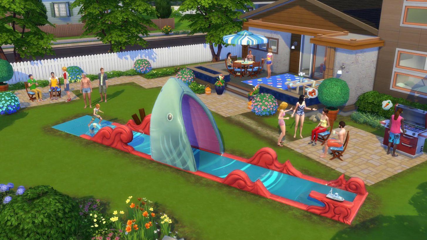Les Sims 4 En Plein Air et Bambins arrivent sur consoles