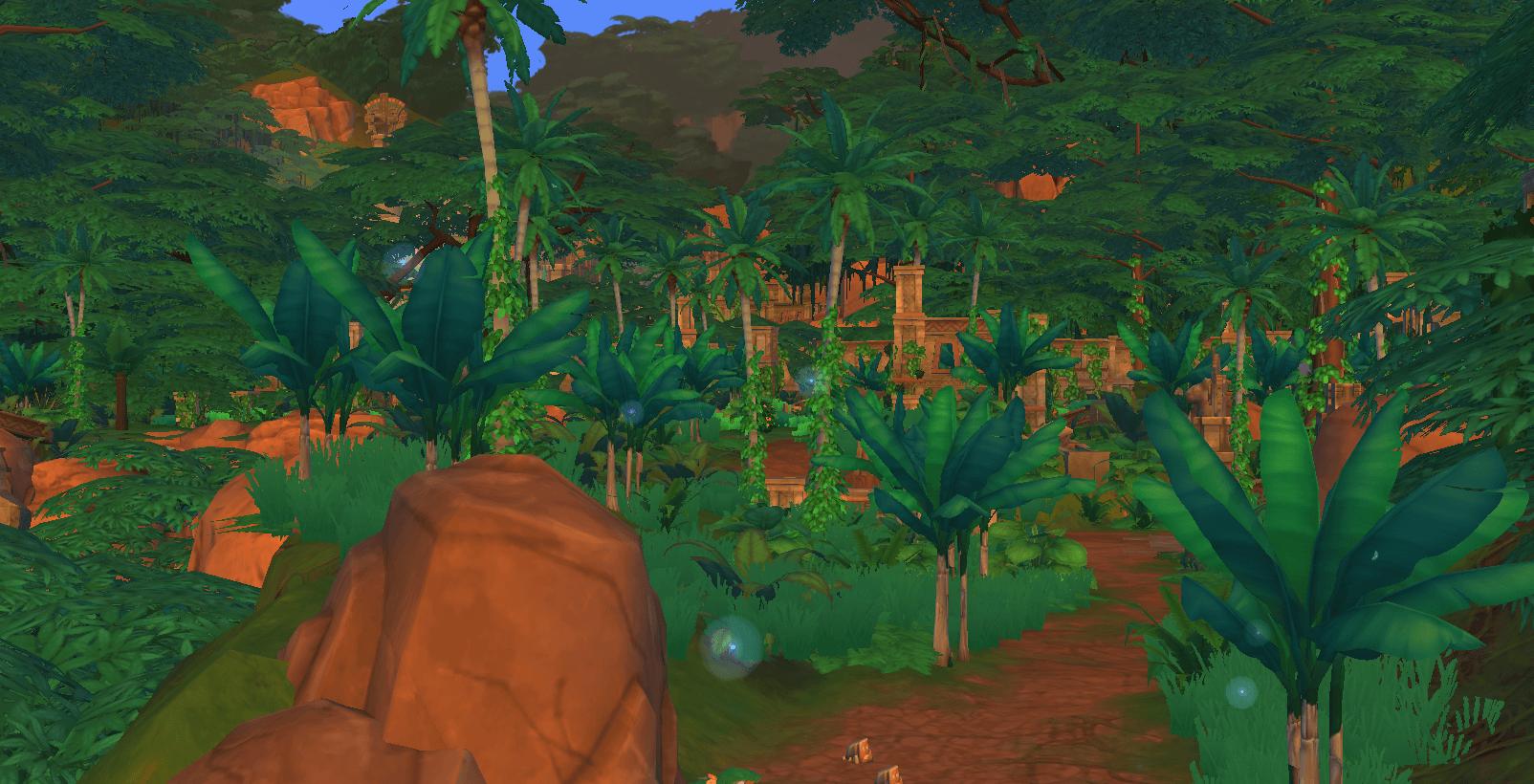 Zoom sur les temples de Selvadorada