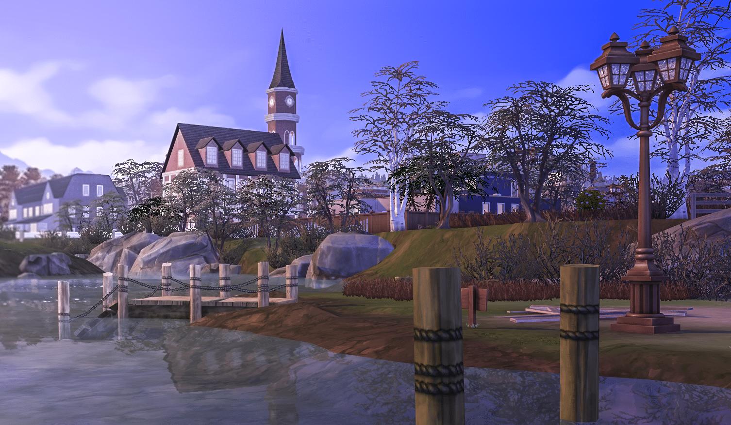 [Hors Série] Test Les Sims 4 Saisons BrindletonCenterTown-Seasons1