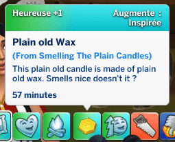 , Zoom sur le mod de fabrication de bougies