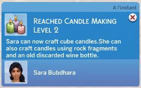 Zoom sur le mod de fabrication de bougies