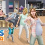 Les grossesses arrivent chez Les Sims Freeplay