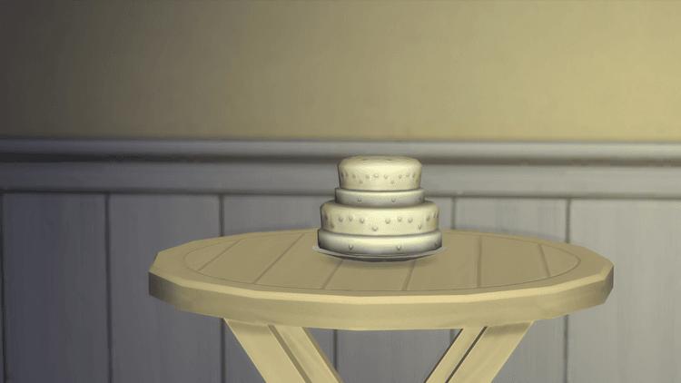 Gâteau sims 4