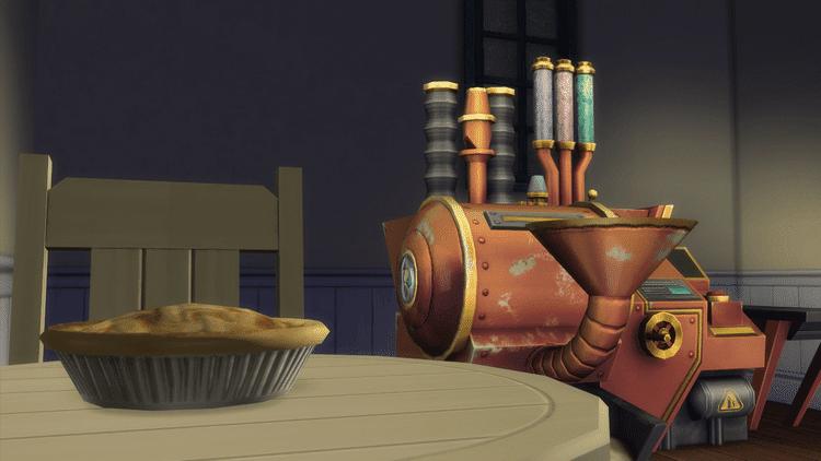 Machine à cupcake sims 4