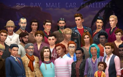 Galerie d'art – 25 Day Male CAS Challenge