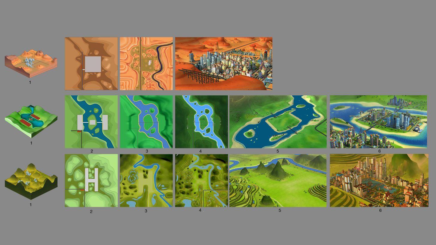 De nouvelles cartes disponibles chez Simcity BuildIt