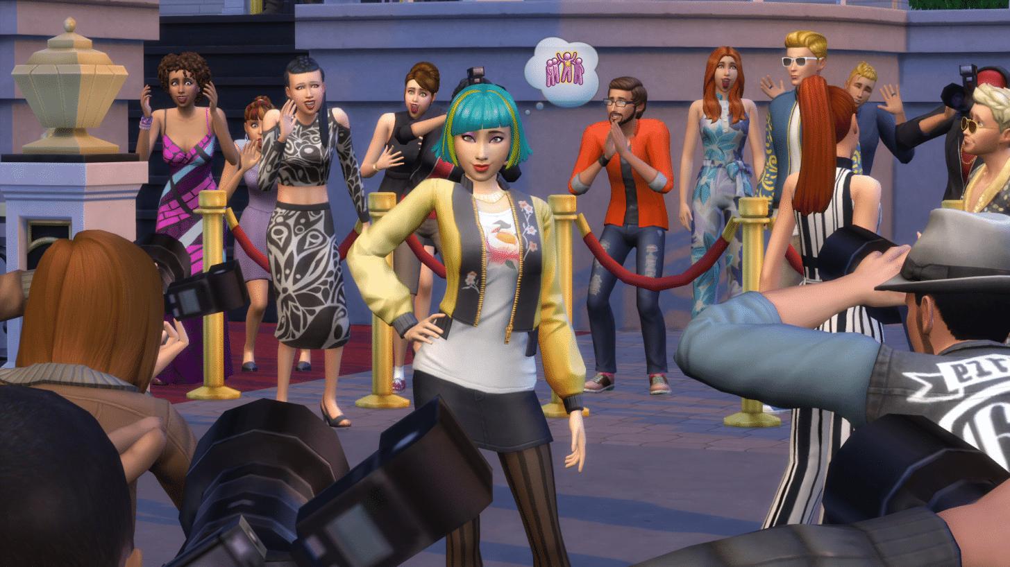 Les Sims 4 Heure de Gloire sortent sur console le 12 Février
