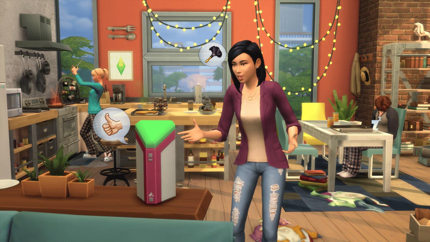Les Sims arrivent sur Alexa