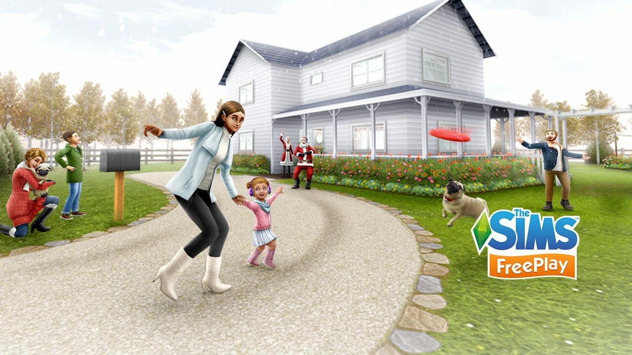 Les fêtes dans Les Sims Freeplay