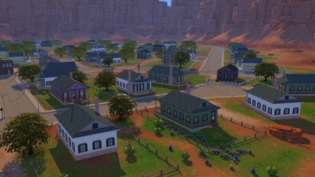 Sims 4 Stranger Ville