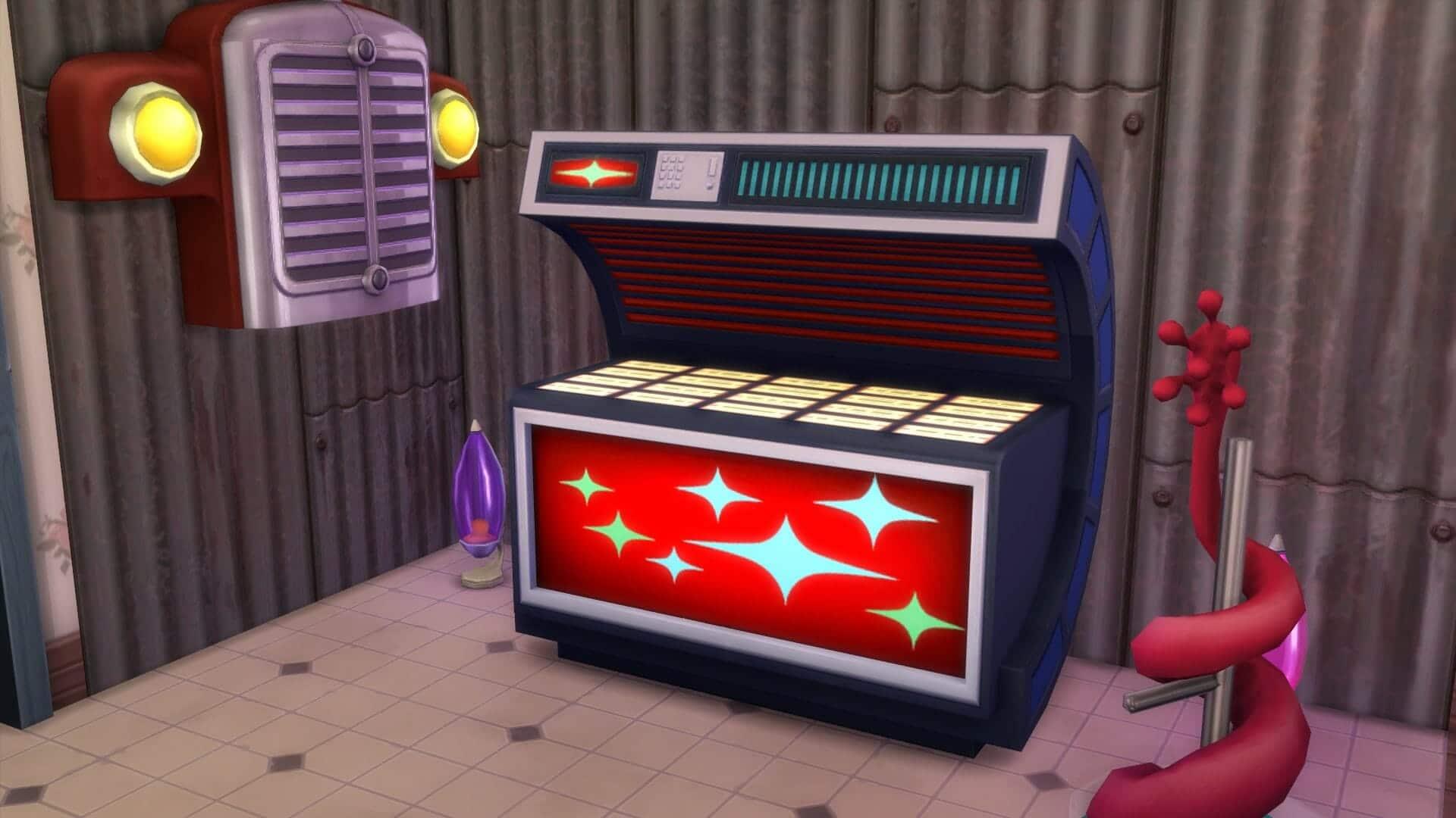 Jukebox sims 4 stranger ville
