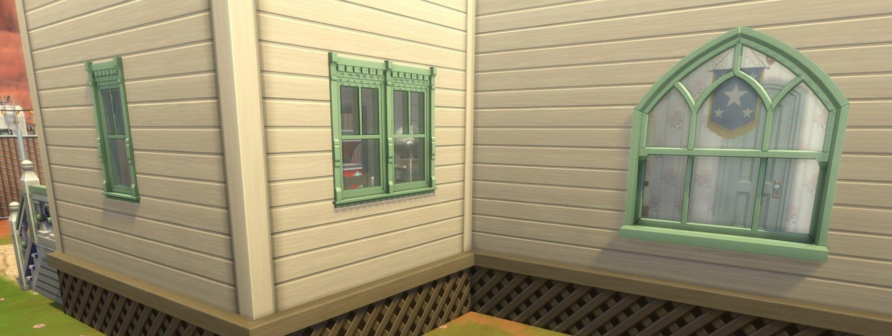 Fenêtres sims 4 stranger ville