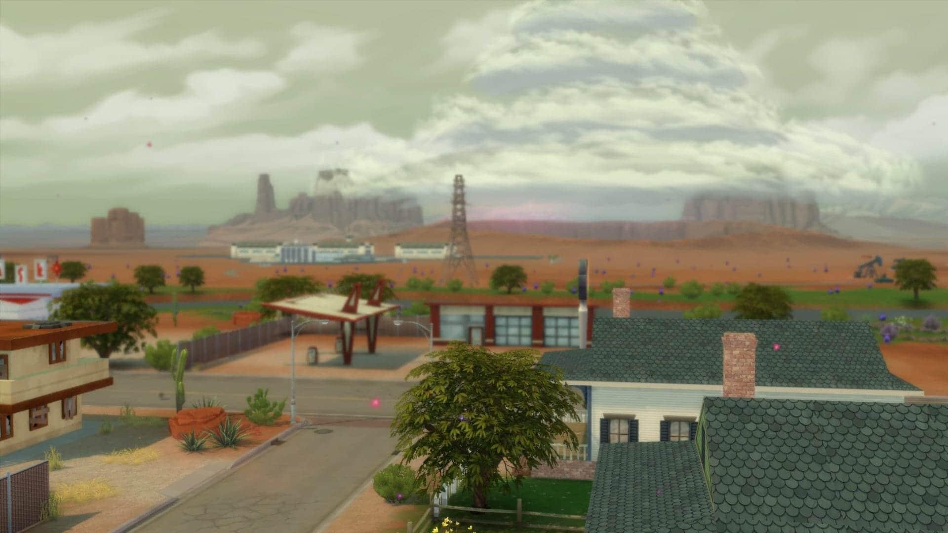 Atmosphère sims 4 stranger ville