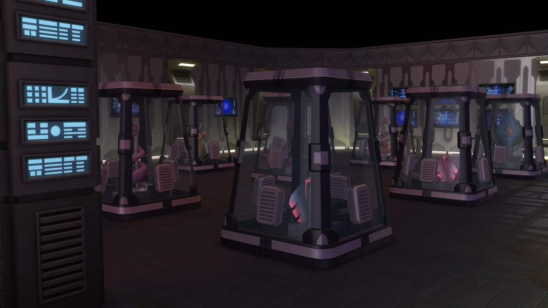 Laboratoire sims 4 stranger ville