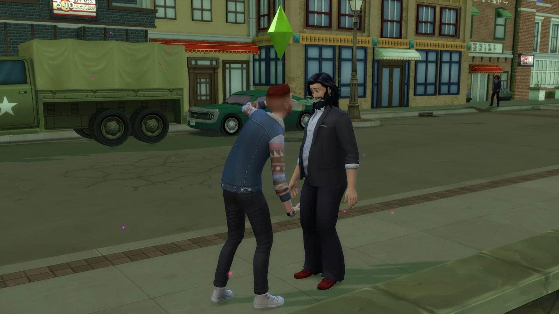 Folie sims 4 stranger ville