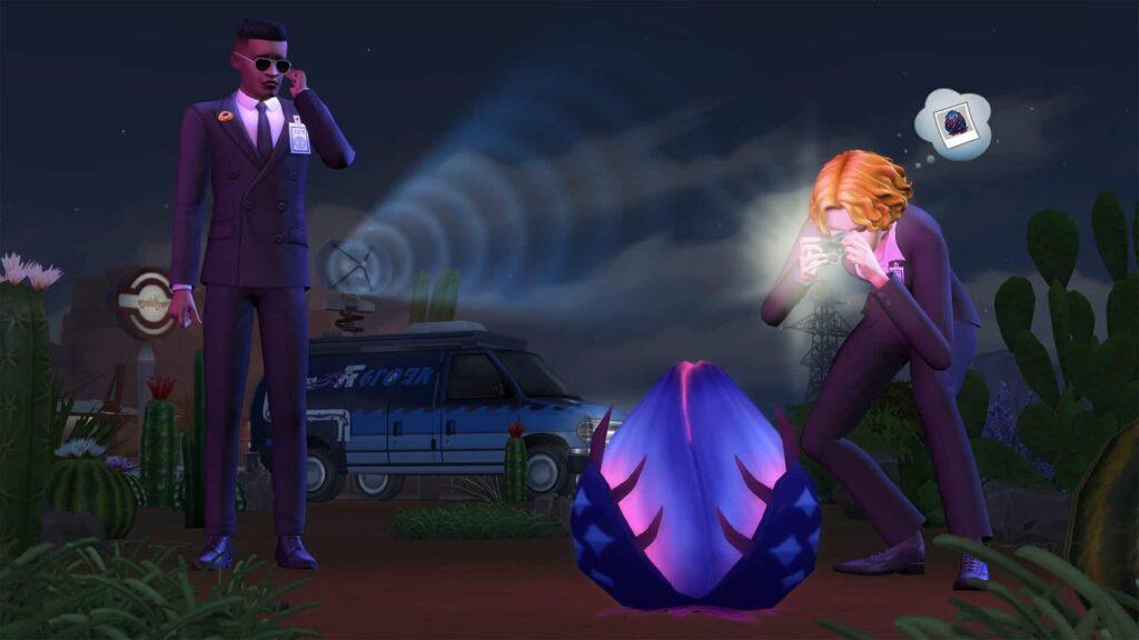 Les Sims 4 Stranger Ville arrivent le 26 Février