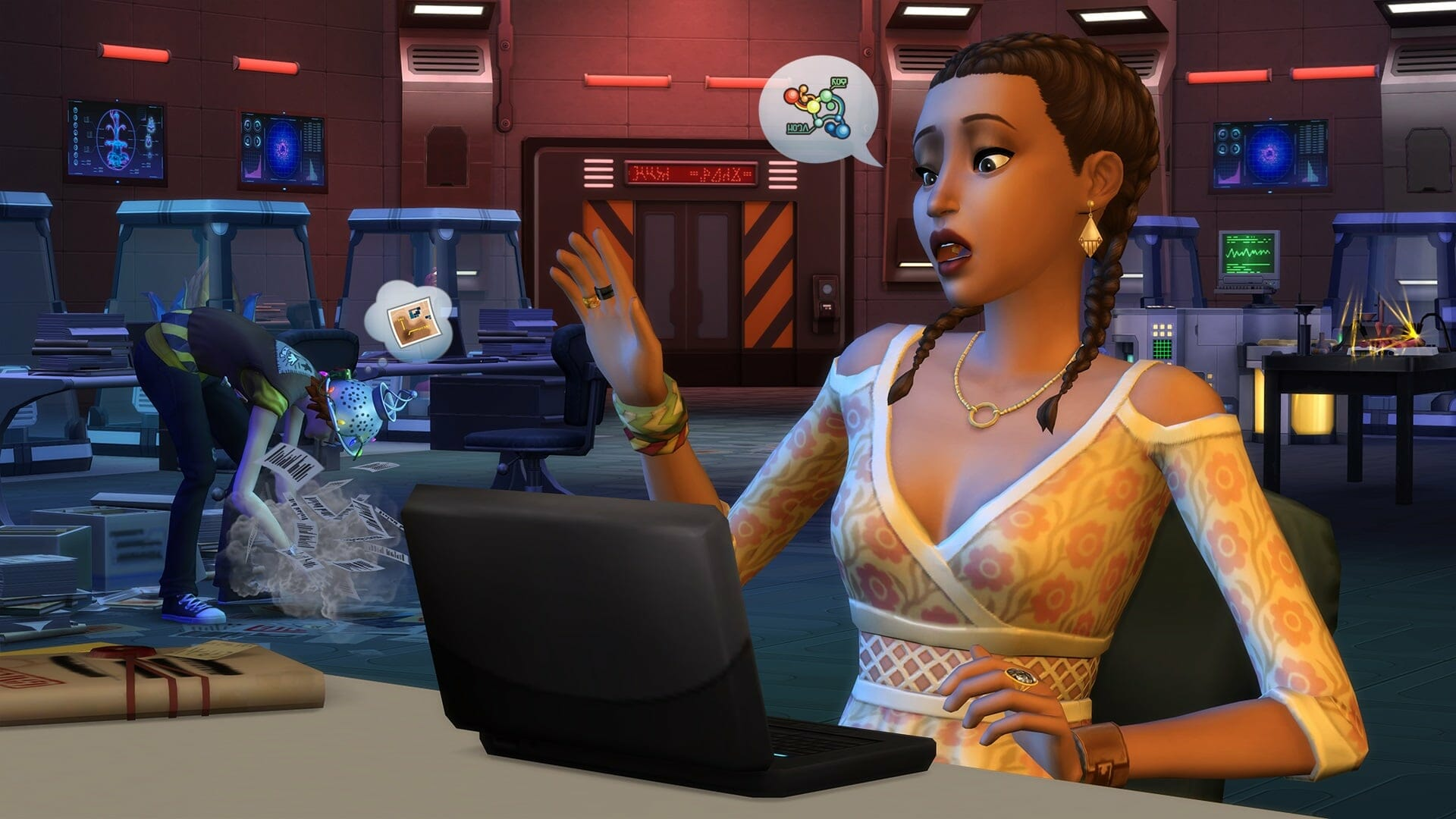 , Les Sims 4 Stranger Ville arrivent le 26 Février
